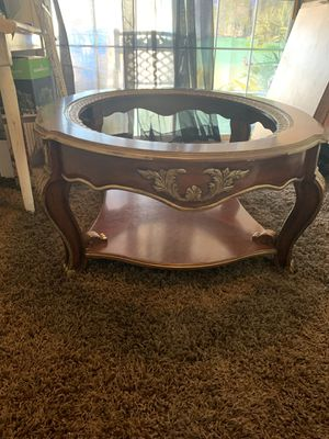Table with glass top for Sale in Los Angeles, CA