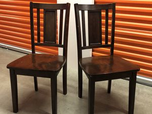 Dark Mahogany Dining Room / Accent Chairs for Sale in Seattle, WA