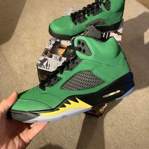 """Jordan 5 SE Retro """"Green Apple"""" Oregon Size 8 & 11.5 for Sale in Seattle, WA"""