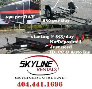 Flatbed Auto Hauler Tow Dolly Trailer for Sale in Atlanta, GA