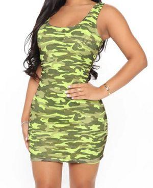Lime Camo Mini dress for Sale in Mason, OH