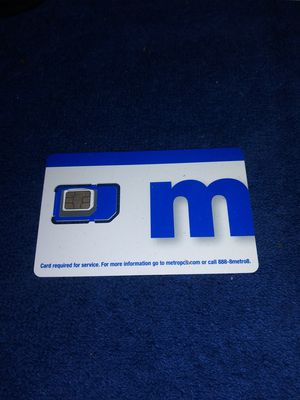 Metro PCS SIM card for Sale in Cleveland, OH