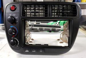 99 - 00 Honda Civic Radio Dash Bezel AC Heat Control for Sale in Yelm, WA
