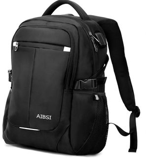Laptop Backpack, AIBSI Anti Theft Business Backpack for Women & Men, Slim Durable Travel Computer Bag, Waterproof College School Bookbag with USB Cha for Sale in South Brunswick Township, NJ