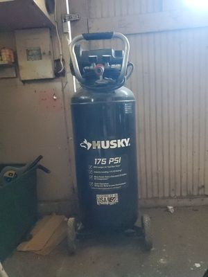 Husky 175P.S.I. air compressor for Sale in Tacoma, WA