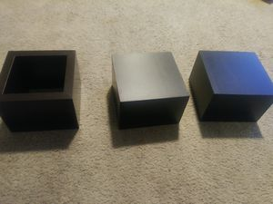 updated - 5 Floating shelves, wall cubes for Sale in Lacey, WA