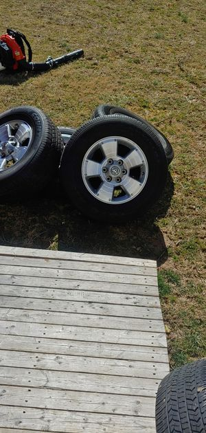 Toyo tires with only 10.000 Miles and rims for a Toyota Tacoma 265/65R17 for Sale in Wheaton, MD