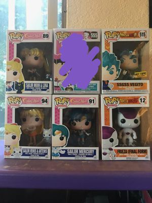 Animation funko pops for Sale in San Diego, CA