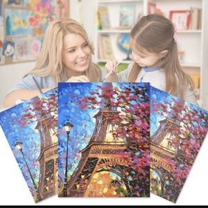 DIY Paint by Numbers for Adults Eiffel Tower Paris for Sale in San Francisco, CA