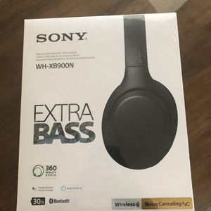 Unopened Box - Sony Xtra Bass headphones for Sale in Fountain Hills, AZ
