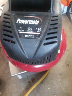 Powermaster Compressor 1 Gallon 100 PSI 120 Bolt for Sale in Beaverton,  OR