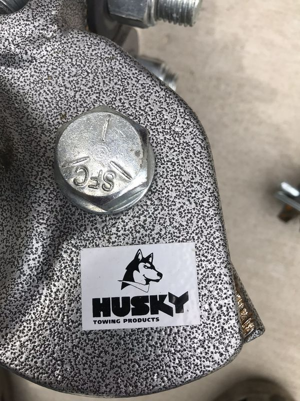 Husky hitch and anti sway