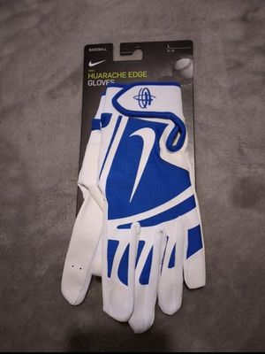 New Nike men's batting gloves Size L for Sale in San Diego, CA