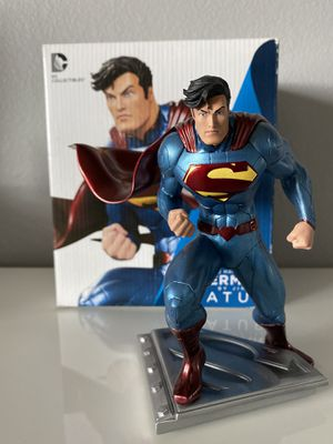 Superman Man of Steel Statue by Jim Lee DC Comics for Sale in Winchester, CA