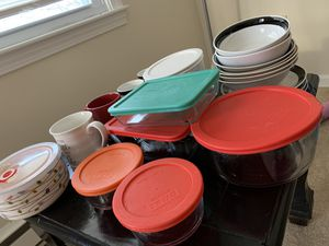 Pyrex boxes,cups,plates,bowl,utensils for Sale in Lincoln, RI