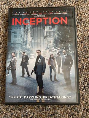 Inception dvd for Sale in Ellington, CT