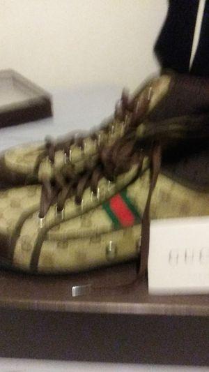 Gucci shoes size 12 men for Sale in Phoenix, AZ