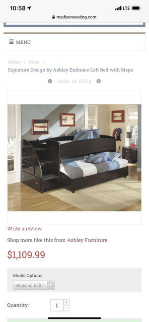 Loft bed for Sale in Saucier, MS