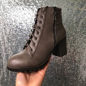 Bamboo High heeled brown leathered boots for Sale in Philadelphia, PA