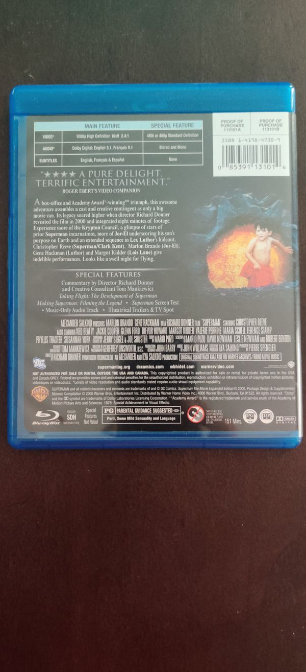 Blu-ray collection of 12 movies