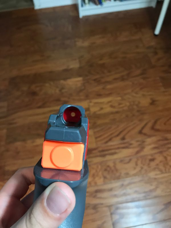 TOY Nerf Persuader and Bigshock pistol blasters