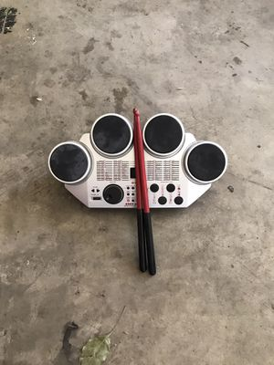 Yamaha drummer works with battery very good working condition for Sale in Stockton, CA