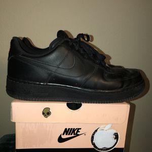 Nike Air Force 1 black low top for Sale in North Las Vegas, NV