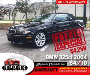 BMW...325ci..2004 for Sale in Orlando, FL