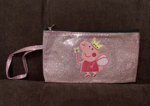 Peppa Pig Metallic Pink Sparkly Clutch—NWT for Sale in Vienna, VA