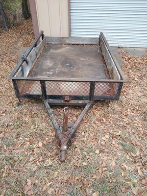 Used 5ft x 8ft tilt trailer for Sale in Burleson, TX