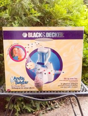 Black & Decker's Arctic Twister ice cream mixer (New in Box) for Sale in Parma, OH
