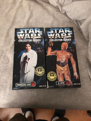 Star Wars collectible action figures. for Sale in Phoenix, AZ