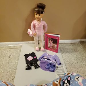 "Sydney Lee 18"" Our Generation Doll and book for Sale in Garden Grove, CA"