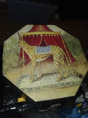 Vintage carnival type themed. Storage octagonal box for Sale in Long Beach, CA