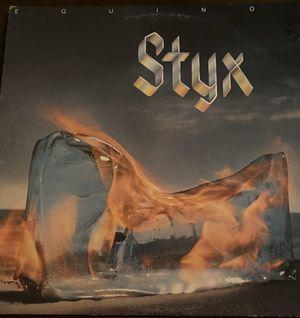 Original Styx Equinox Album Good Condition for Sale in Haltom City, TX