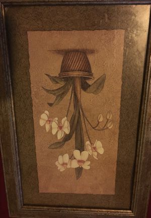 Original flower pot paintings for Sale in Los Angeles, CA