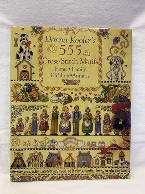 Donna Kooler's 555 Cross-stitch Motifs for Sale in Fredonia, KS