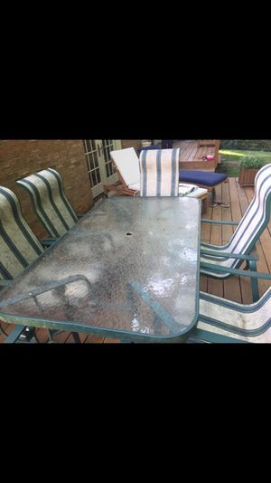 Patio dining set for Sale in Rockville, MD