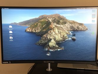 24in Curved Monitor for Sale in Fairfield,  CA