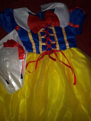Snow White Princess Dress Costume. NEW. Child Size 2-4 for Sale in Phoenix, AZ