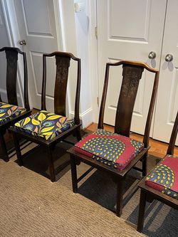 4 antique chairs for Sale in Washington,  DC