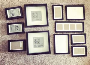 Lovely modern matted black picture frames for Sale in LOS RNCHS ABQ, NM
