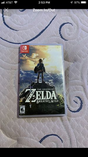 Zelda Nintendo Switch for Sale in Ashburn, VA