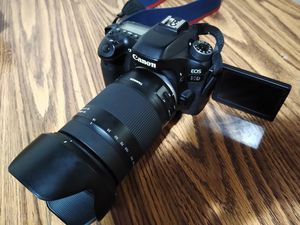 Canon 80D +Tamron 18-400mm vc for Sale in Denver, CO