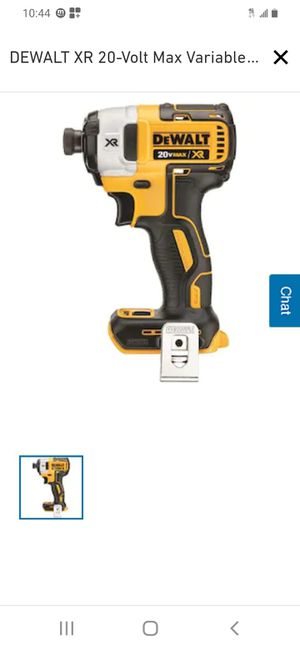 Dewalt 20v xr brushless 3 speeds impact drill ( tool only for Sale in San Jose, CA