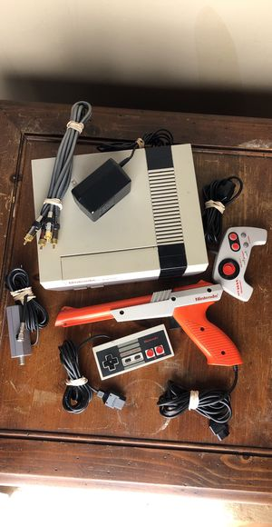 Nintendo NES < Original NES > with 19 Classic Games + All Hookups! for Sale in Margate, FL