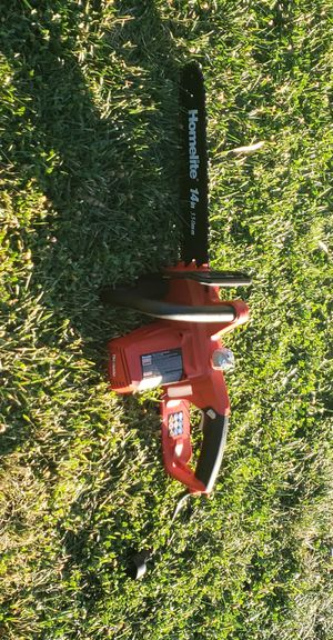 HOMELITE ELECTRIC CHAIN SAW 14IN for Sale in Patterson, CA