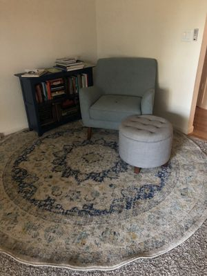 Rug, Chair, Ottoman for Sale in Clovis, CA