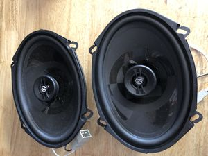 "Memphis Audio PRX57 5"" x 7"" 2-Way 160W Max 88dB Coaxial Car Audio Speakers Mustang adapters for Sale in San Francisco, CA"