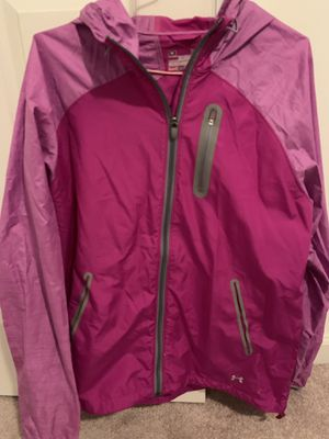 Women's size large under armour rain jacket for Sale in Hillsboro, MO